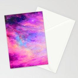 Pink Purple Orion NebulA Stationery Cards