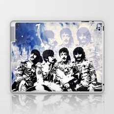 John-Paul-George-Ringo Blues Laptop & iPad Skin