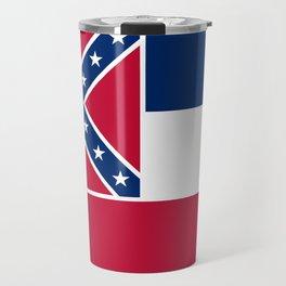 Mississippi State Flag Travel Mug