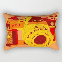 Canon Rebel Camera - Retro Rectangular Pillow