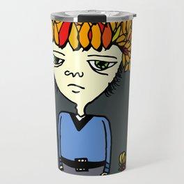i belong with flowers Travel Mug