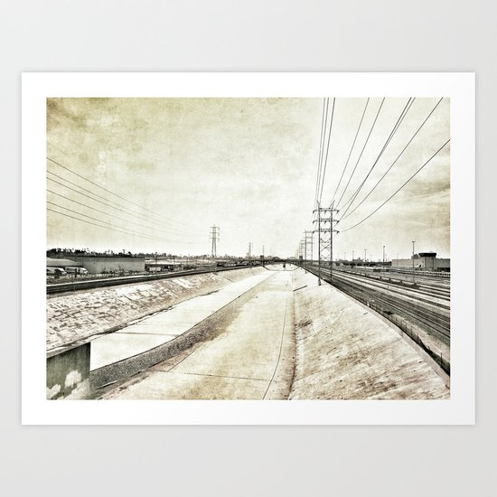 Los Angeles River Art Print