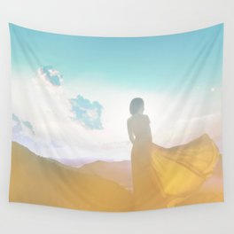 Her Poetry Collection Art Wall Tapestry