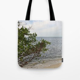 They Met at the Peace River Tote Bag