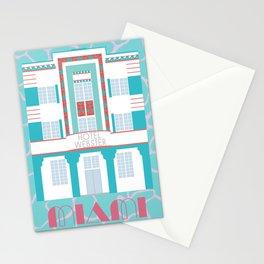 Miami Landmarks - Hotel Webster Stationery Cards