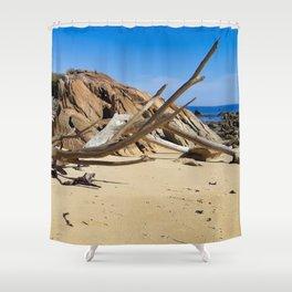 Driftwood Shower Curtain