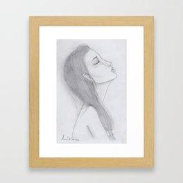 Ethereal Series: Elsie Framed Art Print