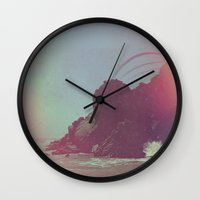 big sur Wall Clocks featuring Big Sur  by Stakers