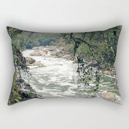 Urubamba/Vilcanota River Rectangular Pillow