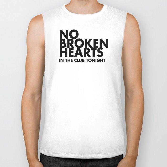 NO BROKEN HEARTS Biker Tank