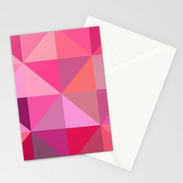 Shades of Pink Panache Stationery Cards