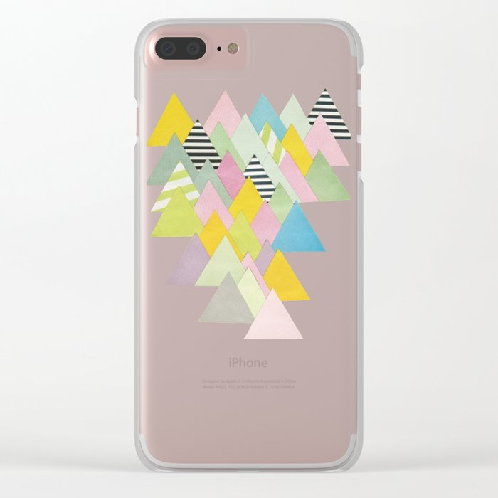 French Alps Clear iPhone Case