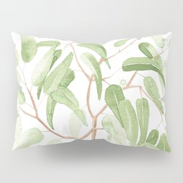 Ginger Jar + Eucalyptus Pillow Sham
