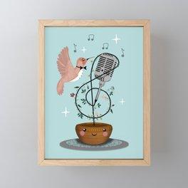 Sweetest Nectar Framed Mini Art Print