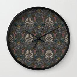 Ornamental Victorian Inspired Pattern Wall Clock