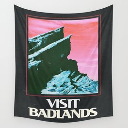 BADLANDS POSTER // HALSEY Wall Tapestry