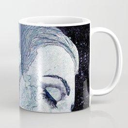 Obey Me: Blue (graffiti flower woman portrait) Coffee Mug