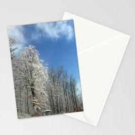 Frosty Winter Morning Stationery Cards