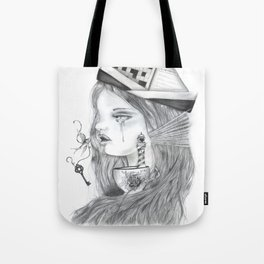 Storm in a tearcup Tote Bag