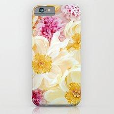 peony cascade iPhone 6s Slim Case