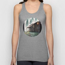 Cabin in the Pines Unisex Tank Top