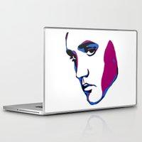 elvis Laptop & iPad Skins featuring ELVIS by HAUS OF DEVON