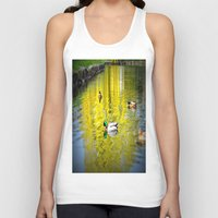 ducks Tank Tops featuring ducks by  Agostino Lo Coco