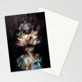A Cubism Piece Stationery Cards