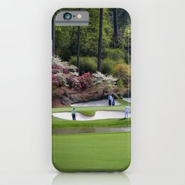 Augusta Georgia Amen Corner Golf Series Sets iPhone Case