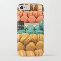 macarons iPhone & iPod Cases featuring Macarons by Cristina Cavallari