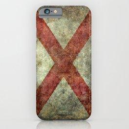 Alabama state flag iPhone Case