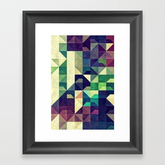 Tyo DDz Framed Art Print