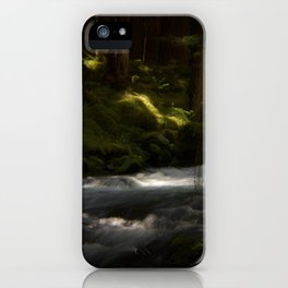 Listening River iPhone Case