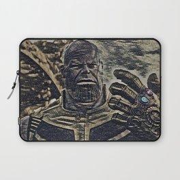 Thanos Artistic Illustration Floor Stones Style Laptop Sleeve