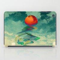 sun iPad Cases featuring Reach the Sun! by Klara Acel
