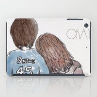 the fault iPad Cases featuring The Fault in Our Stars by Natasha Ramon