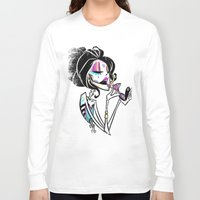 """makeup Long Sleeve T-shirts featuring MAKEUP by """"dfrnt"""""""