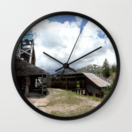 Exploring the Longfellow Mine of the Gold Rush - A Series, No. 1of 9 Wall Clock