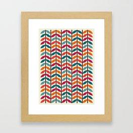Optical Overlap #1 Framed Art Print