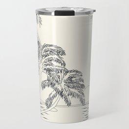 Beach Linescape Travel Mug