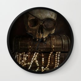 The Lost Treasure Wall Clock