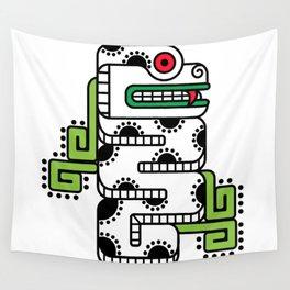 Koru-Fern Serpent Wall Tapestry