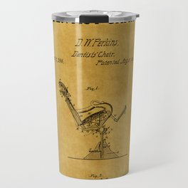 Dentist Chair Patent 1 Travel Mug