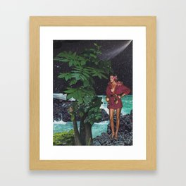 Galactic Chic Framed Art Print
