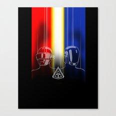 Daft Punk: The Daft Frontier Canvas Print