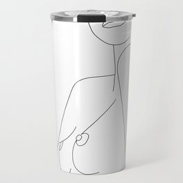 Nude Line Travel Mug