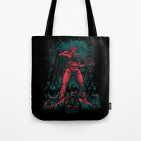 hunter x hunter Tote Bags featuring Hunter by Fuacka