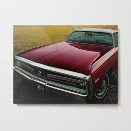 1970 MOPAR 300 Classic Car Metal Print