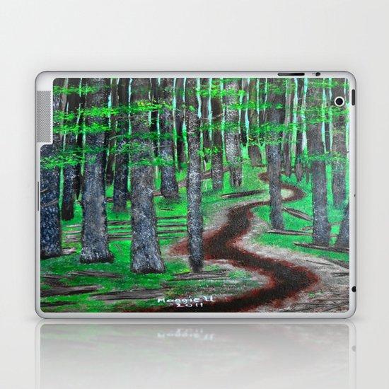 Forest Trail Laptop & iPad Skin