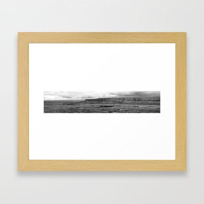 Desert Panorama Framed Art Print